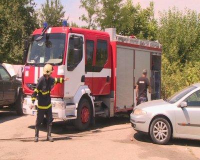 Два пожара горяха само за часове в Русенско