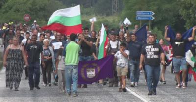 Протест срещу безводието в Малиново