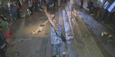 Прокуратурата иска постоянен арест за задържаните при сблъсъците пред бившия Партиен дом