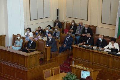 "Неуспешен пети вот на недоверие срещу кабинета ""Борисов 3"""