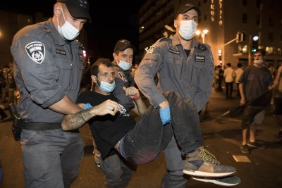Протестите срещу Нетаняху не стихват