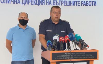 СДВР определи поведението на протестиращите от снощи като провокация към полицията