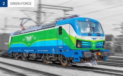 След анкета: БДЖ обяви как ще изглеждат новите локомотиви