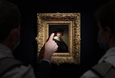Автопортрет на Рембранд е продаден за над 18 милиона долара