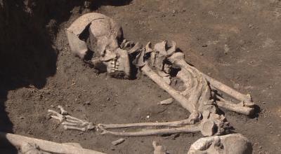 Скелети на 8 000 години до неолитното селище в Слатина, София