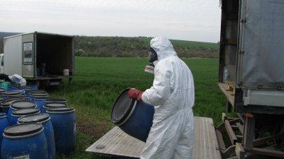 МОСВ започва проверки на складовете с пестициди