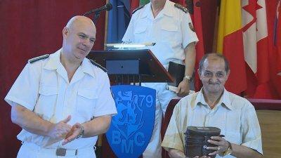"""Наградиха военнослужещи от флота за стрелбата от ракетен комплекс """"Рубеж"""""""