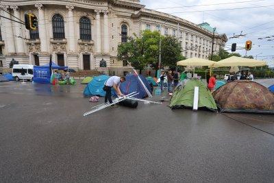 Внесоха жалба заради блокираните кръстовища в София
