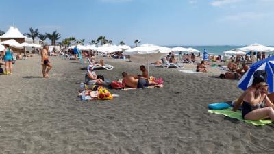 Министерството на туризма провери морски плаж Бургас-север
