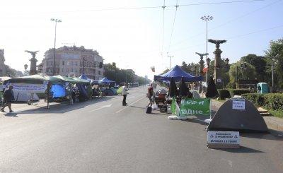 Събират подписка срещу протеста и блокадите на кръстовища в София