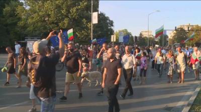 Протестиращи във Варна блокираха ключови кръстовища
