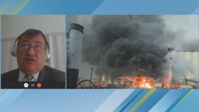 Посланикът ни в Ливан: По предварителни данни са избухнали цистерни с амониев нитрат