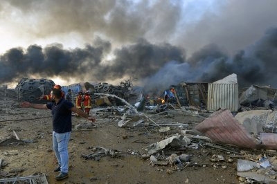 Бейрут след експлозиите (СНИМКИ)