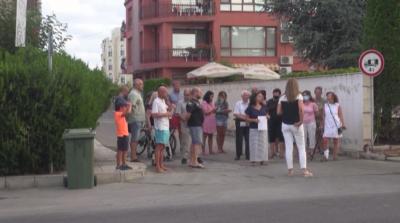 Протест в Несебър срещу обособяването на карантинен хотел
