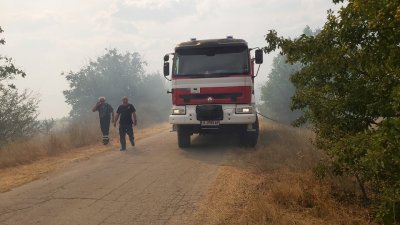 36 пожара горят на територията на страната, повечето са в Хасковско