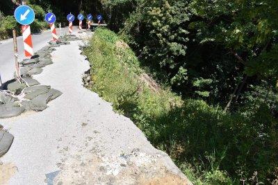 Укрепват свлачището на пътя за Асеновата крепост
