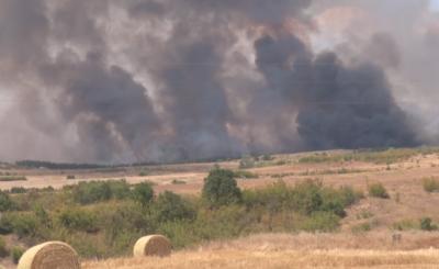 Обявиха бедствено положение в община Свиленград заради пожара