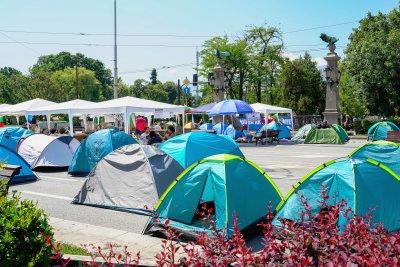 37-и ден на протест: Остават блокирани три столични кръстовища