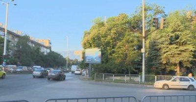 Жандармерия е събрала палатките пред Румънското посолство, кръстовището е свободно за движение