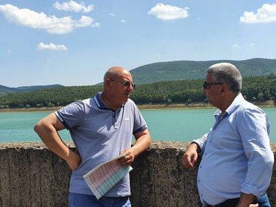 След проверка на екоминистъра: Няма нарушения в графика на язовирите, захранващи Варна и Бургас