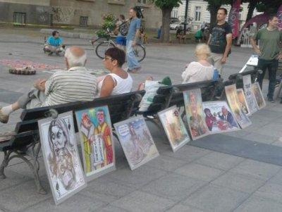 Пореден антиправителствен протест с карикатури в Русе