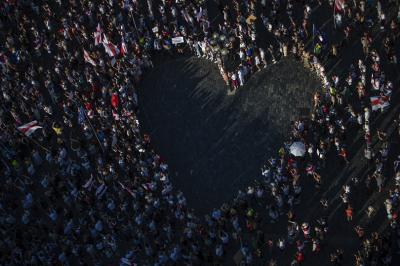 Демонстрации в Прага и Варшава в подкрепа на протестиращите в Беларус