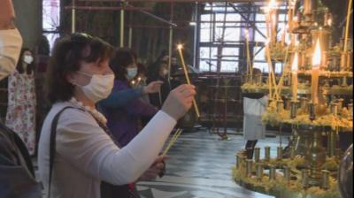 Спрени са укрепителните дейности на пътя до Рилския манастир заради днешния празник