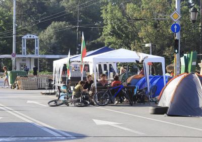 Остава блокадата на 3 кръстовища в столицата