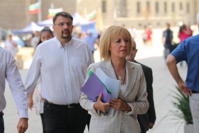Мая Манолова поиска президентът да предложи референдум за промените в Конституцията