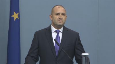 Радев: Дебат за промени в Конституцията - само след оставка и предсрочни избори