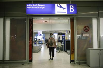 74% спад на пътниците на гръцките летища