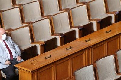 Само 78 депутати в НС. Няма кворум за извънредно заседание