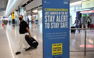 Великобритания налага 14-дневна карантина за пристигащи от Франция