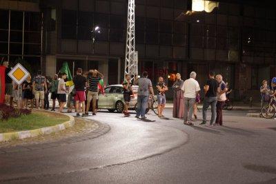 Вдигнаха блокадата на кръстовището до Водната палата в Пловдив