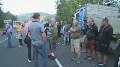 """Представители на бизнеса протестират заради спряното движение през ГКПП """"Илинден-Ексохи"""""""