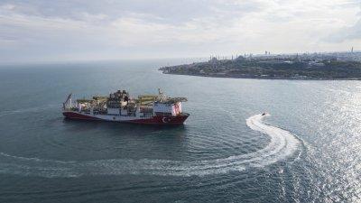 Турция откри голямо находище на природен газ в Черно море