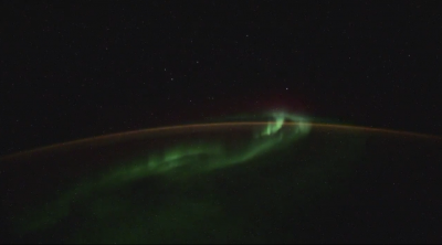 НЛО или метеорити - астронавт засне любопитни кадри