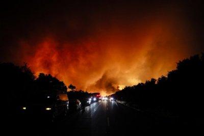 Българка от Калифорния за пожарите от първо лице