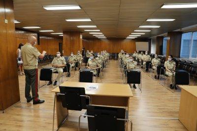 Ген.-майор проф. Мутафчийски посрещна новия випуск лекари във ВМА