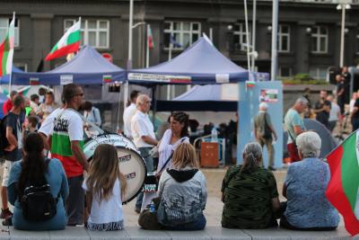50-и антиправителствен протест в София