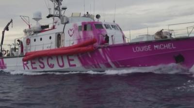 Банкси финансира спасителен кораб за мигранти