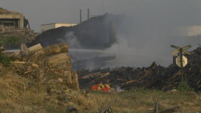 """Все още има опасност от ново възпламеняване в завод """"Свилоза"""""""