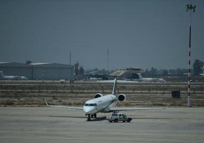 Бомбардираха летището в Багдад