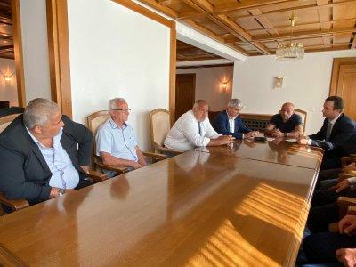 """Премиерът Борисов и представители на синдикатите обсъдиха бъдещето на """"Марица-изток"""""""