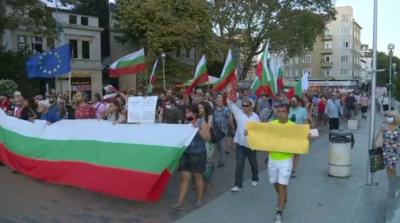 Протестно шествие във Варна