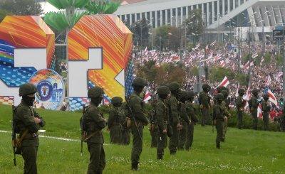 Арести и побой над демонстранти при протестите в Беларус