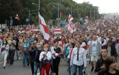 Има ли полицейско насилие срещу протестиращи в Беларус?