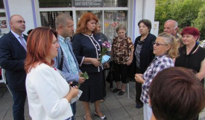 На училище в село Добромирка - без вода и покритие на мобилните оператори. Вицепрезидентът обеща подкрепа