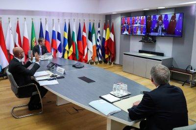 Видеоконферентна среща на върха ЕС-Китай се провежда в Брюксел