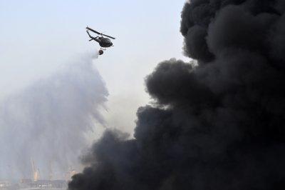 Пожарът на пристанището в Бейрут е потушен